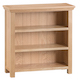 Winsford Oak Small Wide Bookcase