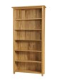 Madison Oak 6ft Wide Bookcase