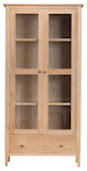 Nottingham Oak Display Cabinet