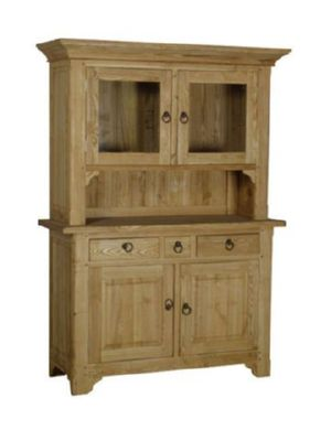 Country Ash Glazed Dresser