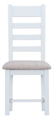 Taunton Oak White Painted Ladder-Back Chair