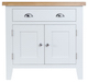 Taunton Oak White Painted Small Sideboard